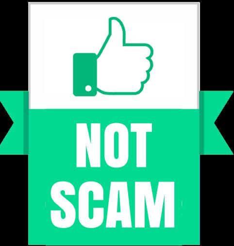 não é fraude confiavel