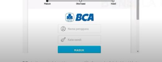 Masuk ke Halaman BCA Internet Banking dan Bayar