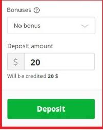 Masukan Nominal Deposit