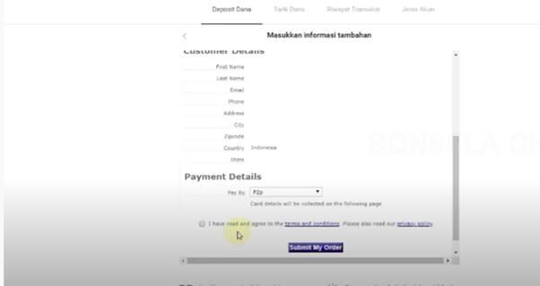 Setujui Transaksi Deposit Anda