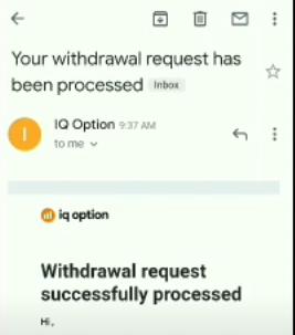 Lakukan pengecekan notifikasi Withdraw di Email
