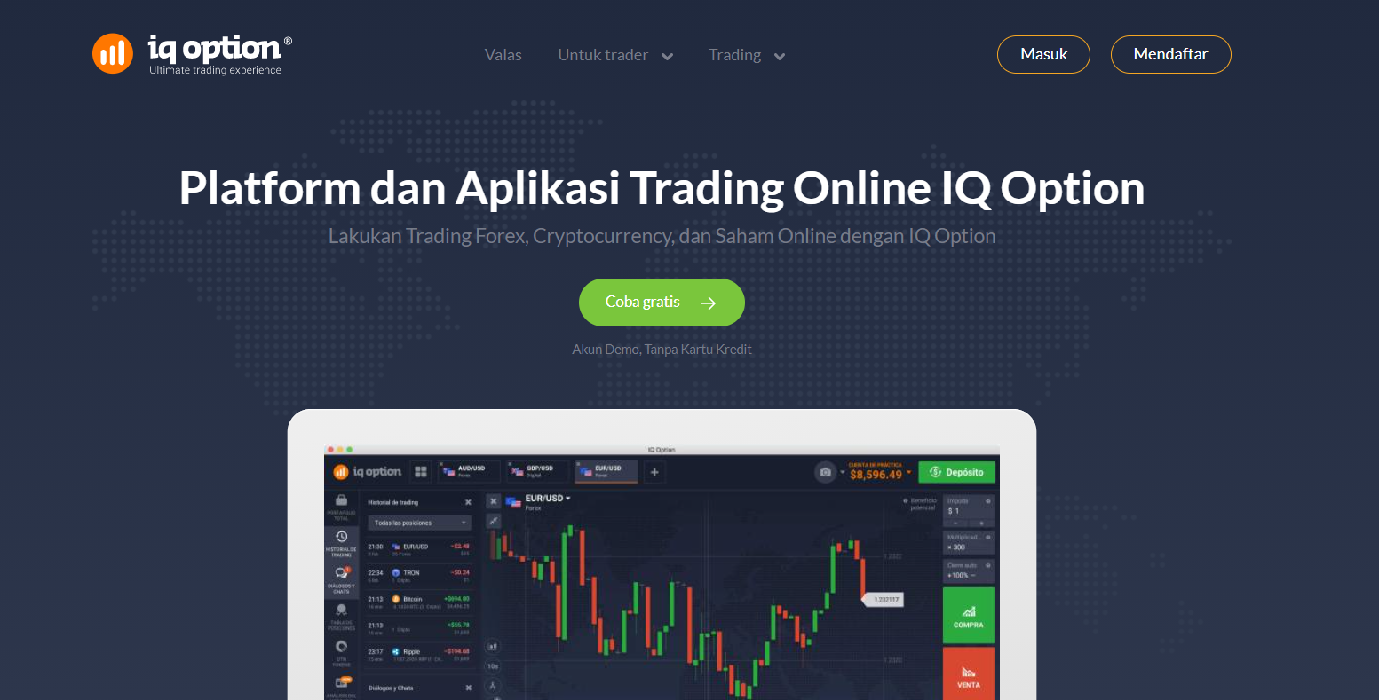 iq option homepage