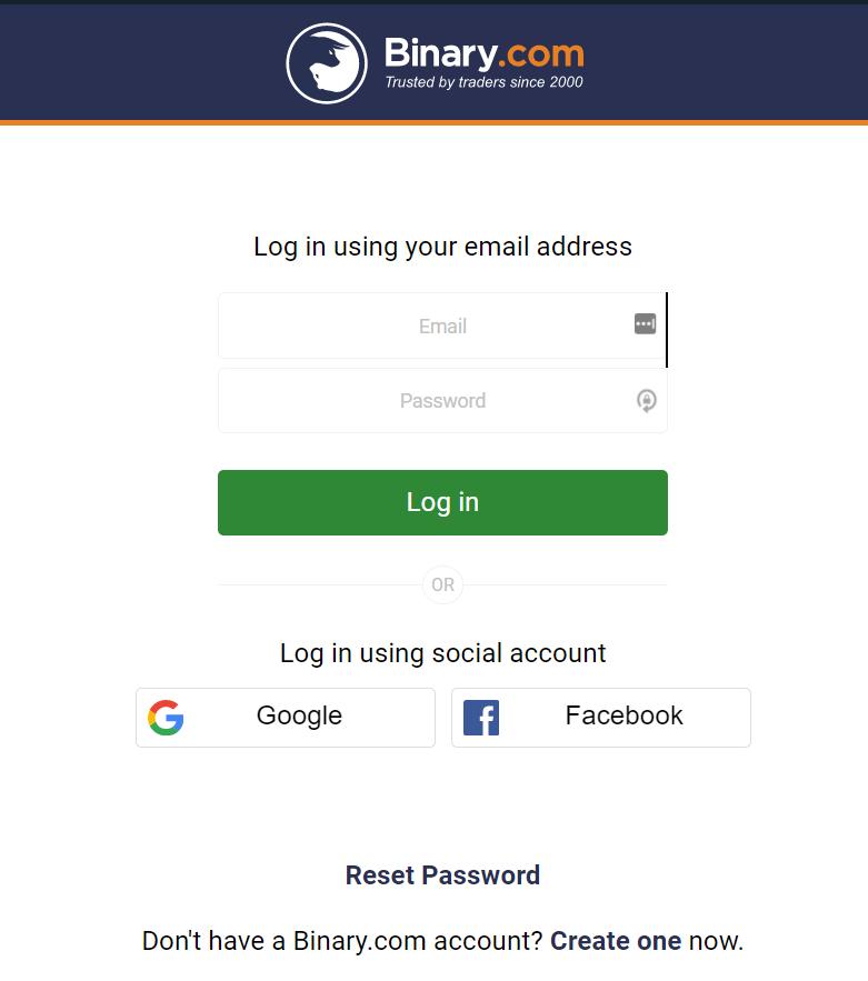 Cara Daftar Binary.com