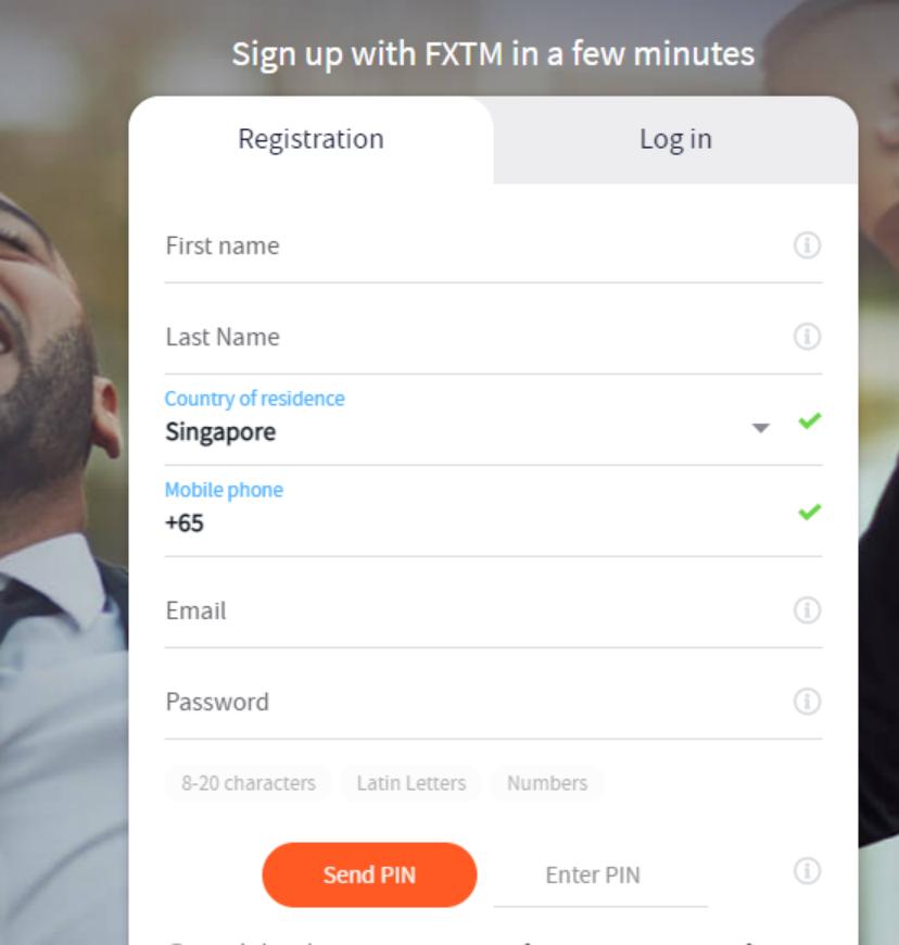 Cara Mendaftar FXTM dan Memulai