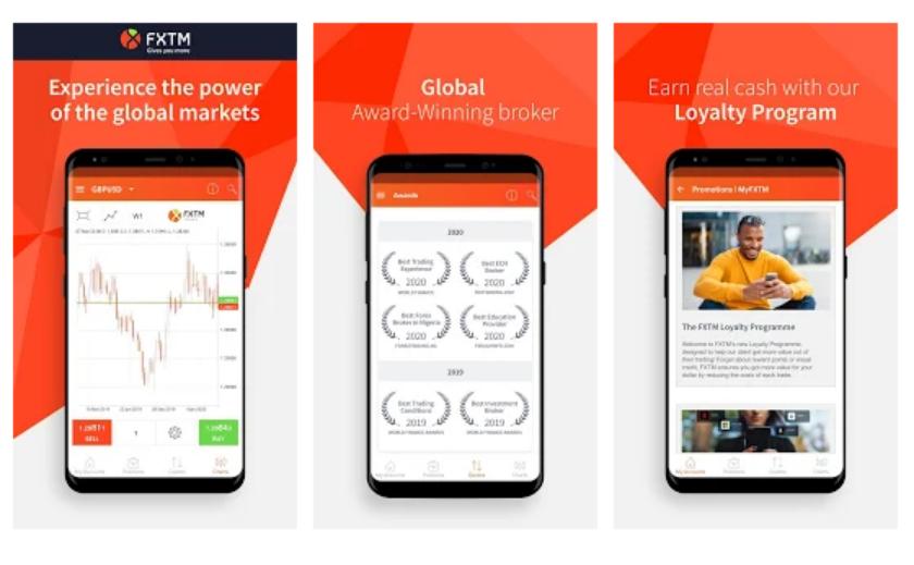 Download FXTM Aplikasi Mobile